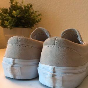 5c88841e91 Vans Shoes - Vans Classic Slip- On  Moonbeam Emboss Suede